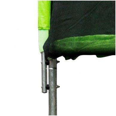 183cm Batutas su apsauginiu tinklu inSPORTline Froggy (iki 100kg) 3