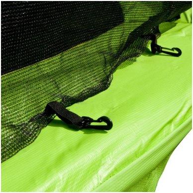 183cm Batutas su apsauginiu tinklu inSPORTline Froggy (iki 100kg) 8