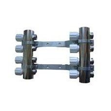 Kolektorius reguliuojamas, rankinis valdymas 11 žiedų