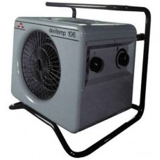 Elektrinis šildytuvas DEVITEMP 109T, 9KW, su laikmačiu