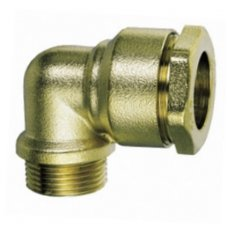 Alkūnė išoriniu sriegiu D 1 ir 1/2 colio / 50 mm