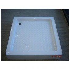 Keturkampis dušo padėklas 1000 x 1000 mm