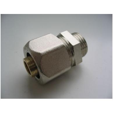 APE jungtis išoriniu sriegiu  D 16 mm  x 3/4 colio 2