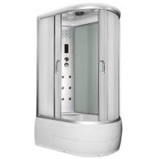 Akcija! Masažinė dušo kabina ANABEL3 white kairė