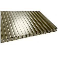 Akcija!Polikarbonatas bronza-pilkas 2100x6000 6mm