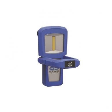 Akumuliatorinis nešiojamas LED prožektorius AS-SCHWABE Evo4 1,5W 2