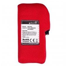 Atsarginė baterija šildomiems marškineliams, kelnėms Glovii GLI7426