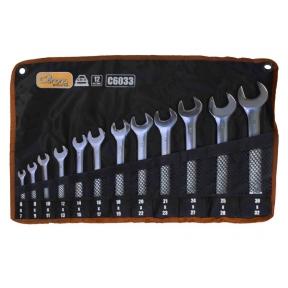 Atvirų raktų rinkinys 6 - 32 mm, 12 vnt.