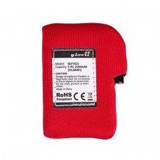Baterija šildomoms pirštinėms ir kepurėms Glovii GLP7421