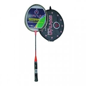 Badmintono raketė Spartan Drop Shot - Red-Bronze
