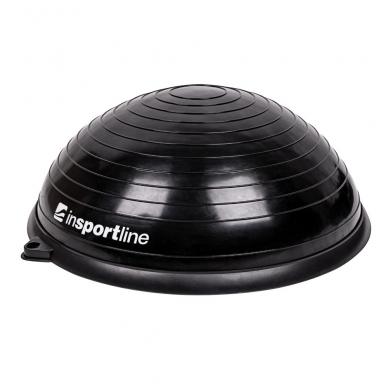 Balansinė pusiausvyros platforma su gumomis inSPORTline Dome UNI Black 60x22cm 3