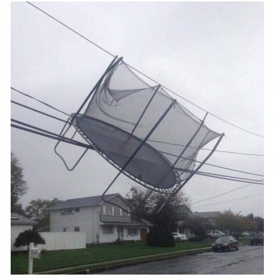 Batuto apsauga nuo vėjo inSPORTline