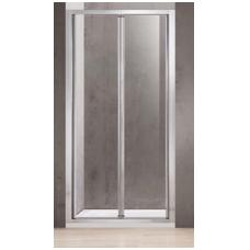 Dušo durys A6422 100x195 skaidrios