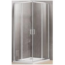 Dušo kabina A1142 90x90 pilka be pado (tik stiklai)