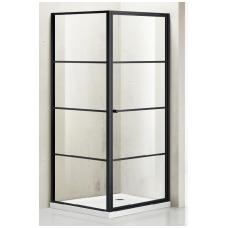 Dušo kabina G1221 80x80 skaidri (tik stiklai)