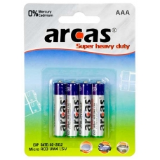 "Elementai ""ARCAS"" AAA LR03, 4 vnt."