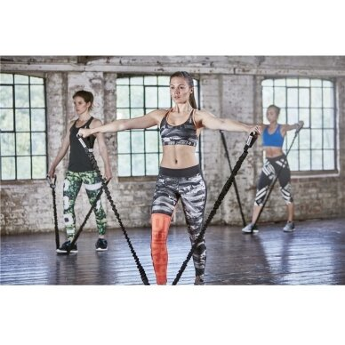 Espanderis - tampyklė Reebok Power Tube Level 2 (lengvas+) 9
