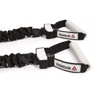 Espanderis - tampyklė Reebok Power Tube Level 3 (vidutinis) 4