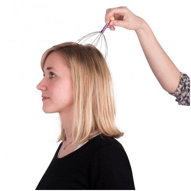 Galvos masažuoklis inSPORTline Kutsuo Purple 3