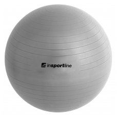 Gimnastikos kamuolys + pompa inSPORTline TOP BALL 45cm (pilkas)