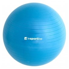 Gimnastikos kamuolys + pompa inSPORTline TOP BALL 55cm (mėlynas)