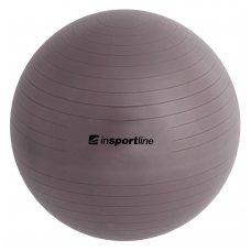 Gimnastikos kamuolys + pompa inSPORTline TOP BALL 55cm (t.pilkas)