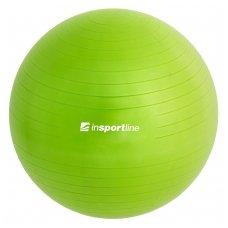 Gimnastikos kamuolys + pompa inSPORTline TOP BALL 65cm (žalias)