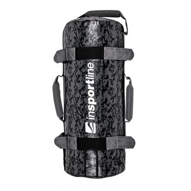 Jėgos maišas su rankenomis inSPORTline FitBag Camu 15kg 2