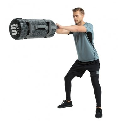 Jėgos maišas su rankenomis inSPORTline FitBag Camu 15kg 8