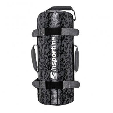 Jėgos maišas su rankenomis inSPORTline FitBag Camu 20kg 2