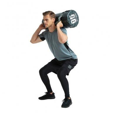 Jėgos maišas su rankenomis inSPORTline FitBag Camu 20kg 3