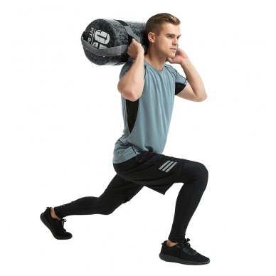 Jėgos maišas su rankenomis inSPORTline FitBag Camu 20kg 4