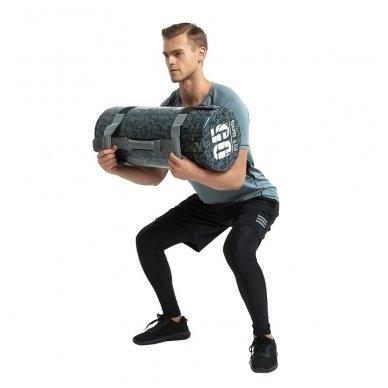 Jėgos maišas su rankenomis inSPORTline FitBag Camu 20kg 6