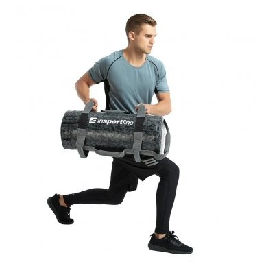 Jėgos maišas su rankenomis inSPORTline FitBag Camu 20kg 9
