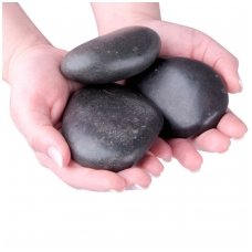 Karšto masažo akmenys inSPORTline 3vnt.  8-10cm