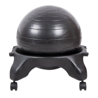 Kėdė su kamuoliu pusiausvyros lavinimui inSPORTline G-Chair Basic 3
