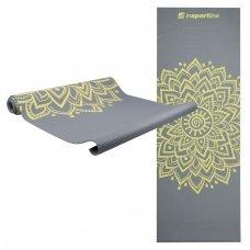 Kilimėlis jogai inSPORTline Spirit 172/60/0.3cm (pilkas)