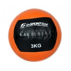 Kimštinis svorinis kamuolys inSPORTline WallBall 3kg