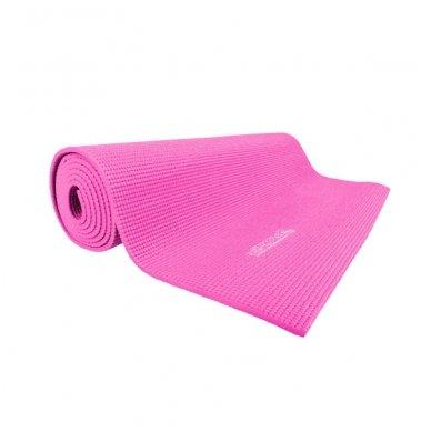 Kilimėlis aerobikai inSPORTline Yoga 173x60x0,5cm (rožinis)