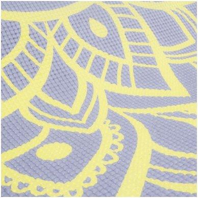 Kilimėlis jogai inSPORTline Spirit 172/60/0.3cm (violetinis) 5