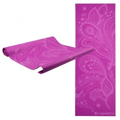Kilimėlis jogai inSPORTline Spirit 172/60/0.3cm (violetinis)