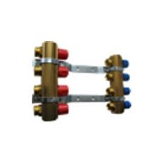 Kolektorius reguliuojamas žalvarinis (rankiniu valdymu) 2 žiedų