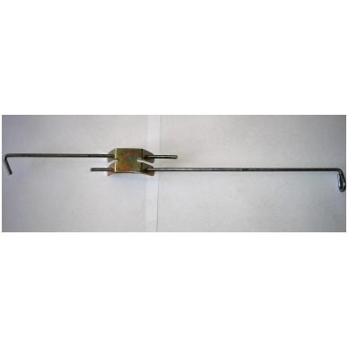Laikikliai luboms 60 cm -115 cm (komplektas)