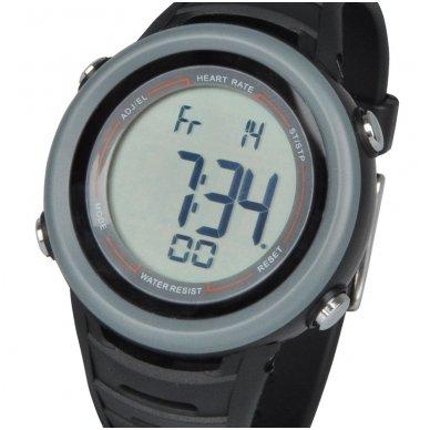 Laikrodis + širdies ritmo jutiklis su diržu inSPORTline Cord 5