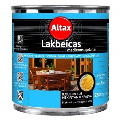 Lakbeicas medienos apdailai Altax, 0,25L