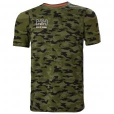 Marškinėliai HELLY HANSEN Kensington, kamufliažiniai 2XL