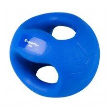 Medicininis kamuolys su rankenomis inSPORTline GrabMe 4kg