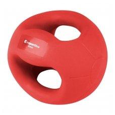 Medicininis kamuolys su rankenomis inSPORTline GrabMe 6kg