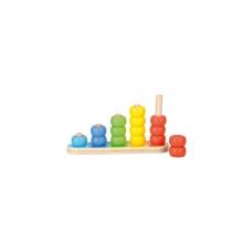 """Medinis lavinamasis žaislas """"Rutuliukai"""", 12 mėn.+"""