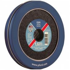 Metalo pjovimo diskas PFERD EHT 125x1,6mm A60 P1,6 BOX